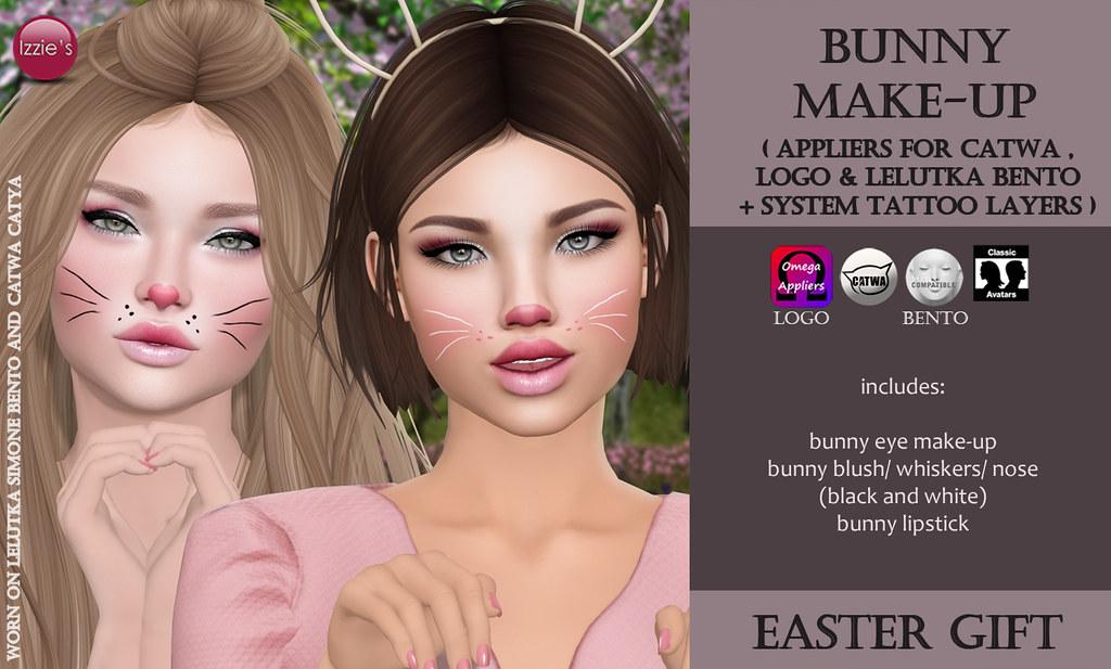 Bunny Make-Up (Easter Gift) - SecondLifeHub.com