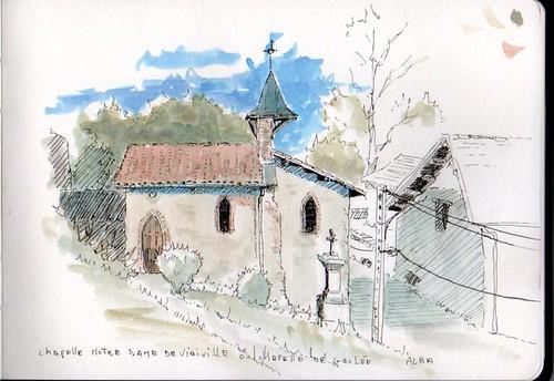 Viriville - Chapelle notre dame de Viriville ou chapelle de Grolée