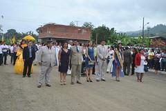Desfile y sesión solemne en Ricaurte