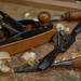 Transitional wood plane, spokeshave, chisel and rasp