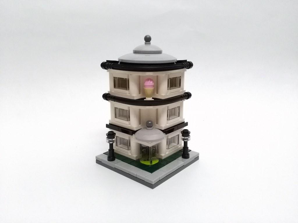 Ice Cream Corner (custom built Lego model)