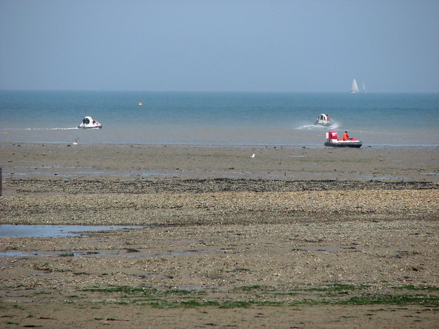 Hovercrafts near Whitstable