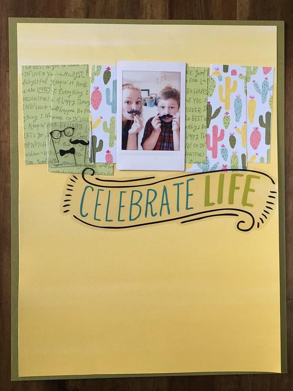 Celebrate life layout