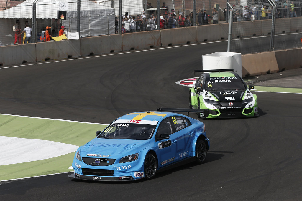 61 GIROLAMI Nestor (arg) Volvo S60 Polestar team Polestar Cyan Racing action during the 2017 FIA WTCC World Touring Car Race of Morocco at Marrakech, from April 7 to 9 - Photo Jean Michel Le Meur / DPPI.