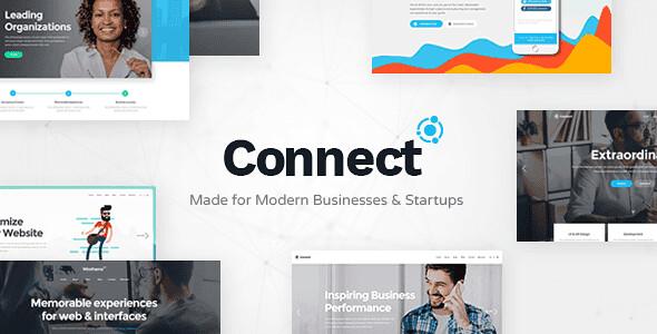Connect WordPress Theme free download