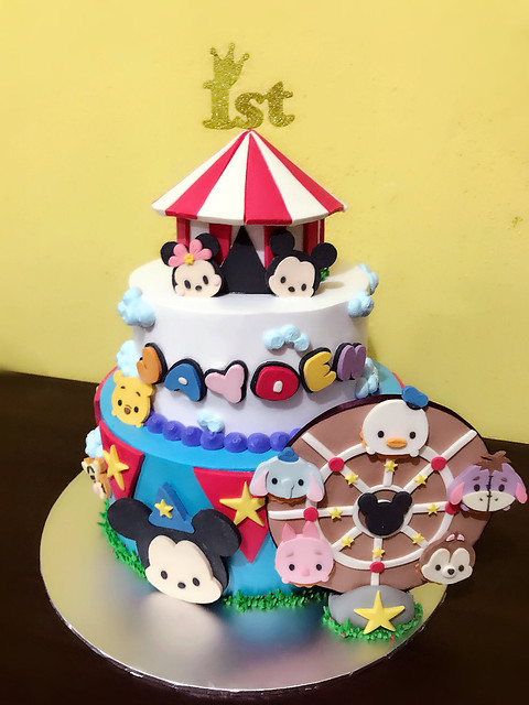 Happy Circus of Tsum Tsum by Wei Ting