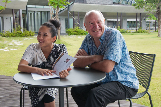 Photo:Hajime Chitose By OIST (Okinawa Institute of Science and Technology)