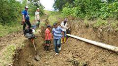 En Convento reparan tuberías y reactivan el servicio del agua potable