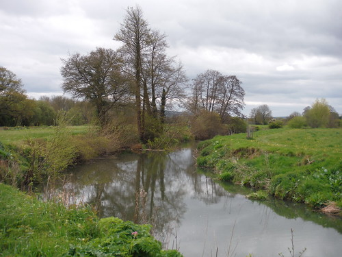 River Ouse, north of The Anchor Inn & Boating