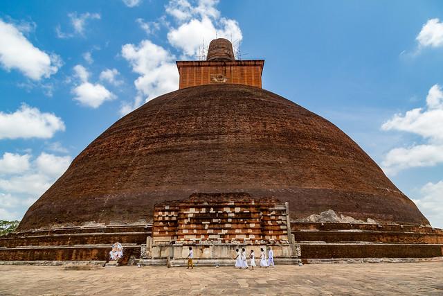 Jetavanaramaya, The World's Largest Stupa