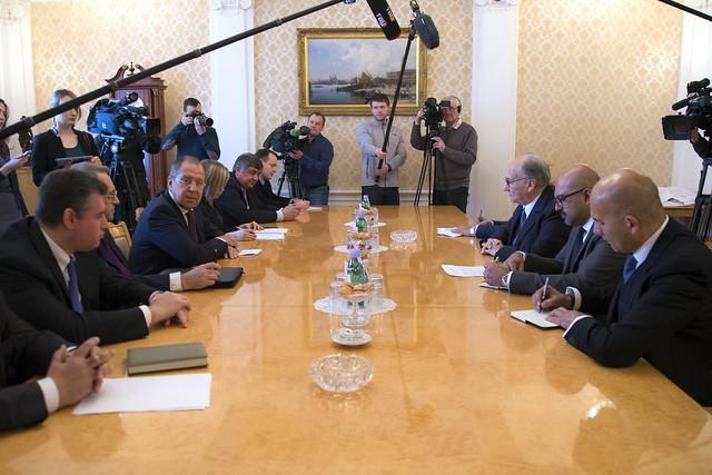 С.Лавров и Принц Карим Ага-Хан IV | Sergey Lavrov & Prince Karim Aga Khan IV