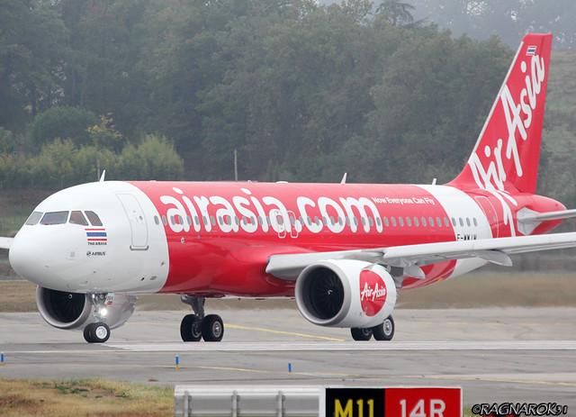 A320NEO ThaiAirAsia F-WWIM-004 cn7195, Canon EOS 60D, Sigma 50-500mm f/4-6.3 APO HSM EX