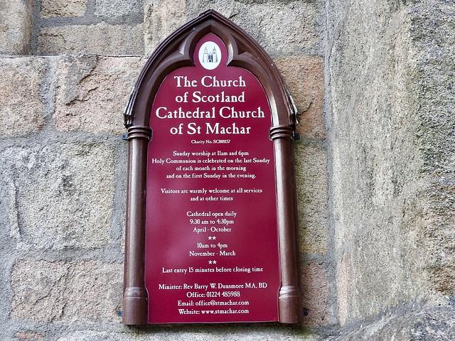 St Machars Cathedral Aberdeen Scotland 2017