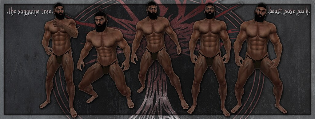 [ new release - beast pose pack ] - SecondLifeHub.com