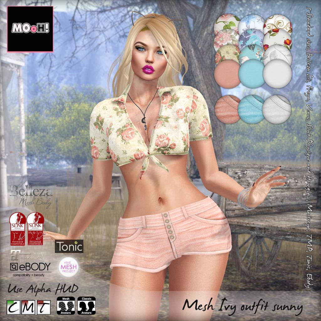 Ivy outfit sunny - SecondLifeHub.com