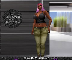 Shanais Closet DPK With Omega Appliers