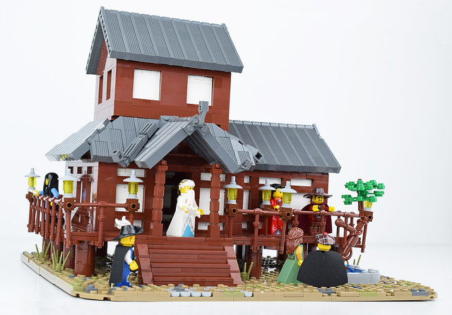 Tabashii's Tea House - Front Left