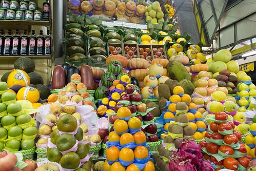 Frutas no Mercadão São Paulo