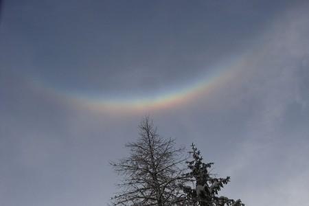 Cirkumzenitální oblouk - Optická šálení VIII.