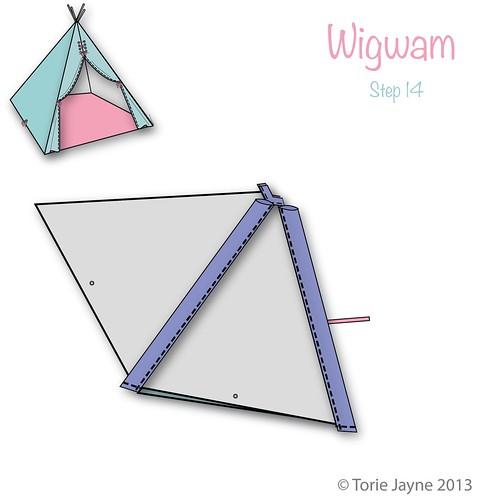 Wigwam Step 14