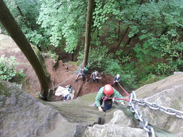 Timberwolf Rock Climbing Basics