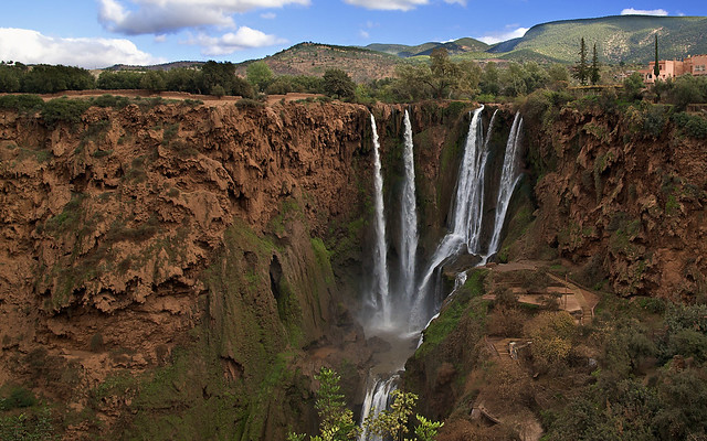 Ouzoud Waterfalls, northeast of Marrakesh, Morocco