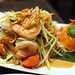 Papaya salad with prawns @ Pinto Thai Restaurant, Kensington