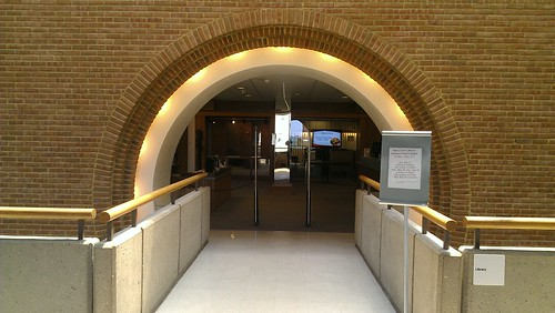 Picture of Law Library Entrance