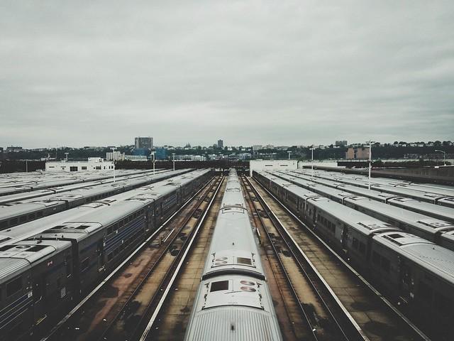 LIRR Train Yard