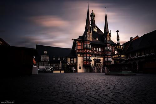Abendstimmung - Rathaus Wernigerode 178/365