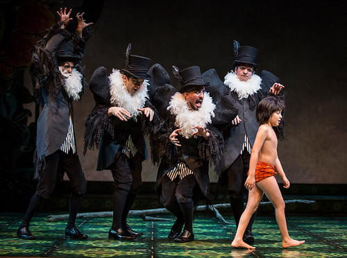 the vultures with akash chopra as mowgli huntington theatre company