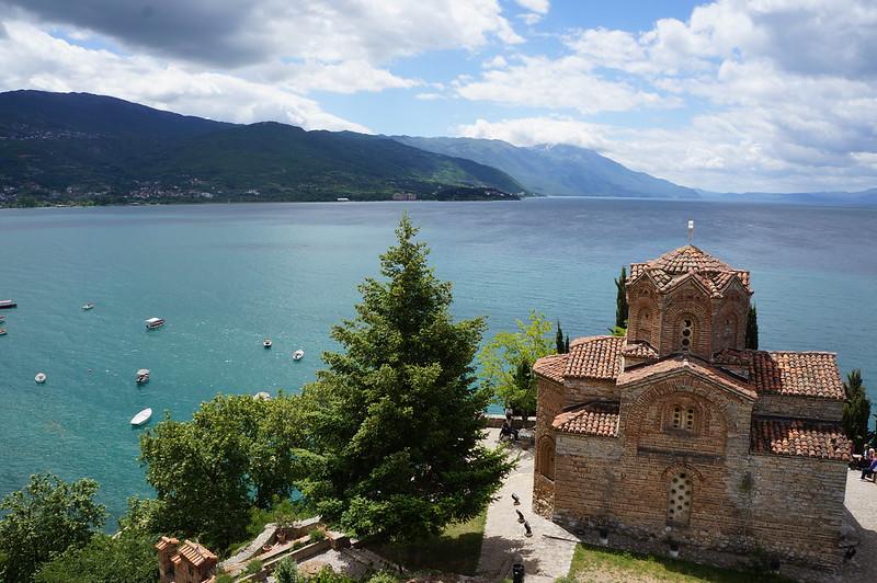 Ohrid lago
