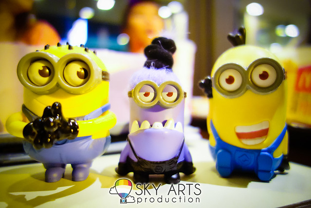 DespicableMe 2 Minions McD Toys Evil Minion Chomper Tom Googly Eyes Grabber Tim Giggling-03629