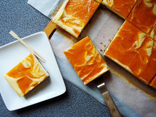 Apricot Cheesecake Bar