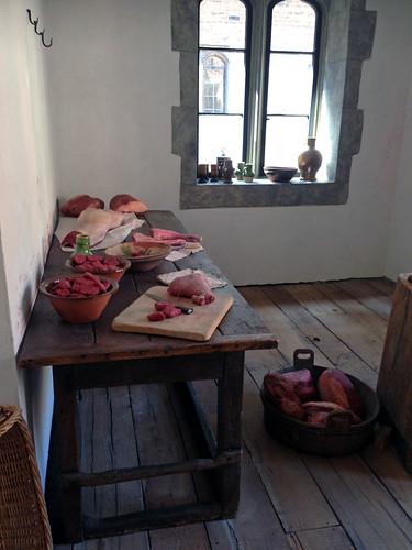 Hampton court palace cuisine tudor chez becky et liz - Quantite de viande par personne par jour ...