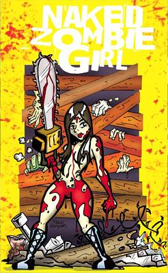 Female zombie babes naked — photo 13