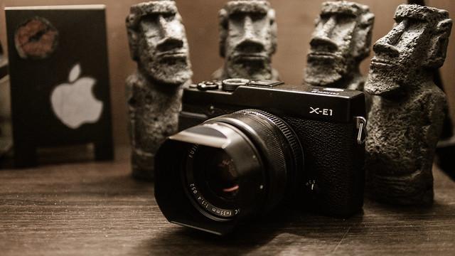 Fujifilm X-E1|霸氣登場。