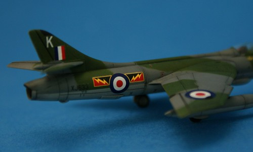 Revell 1/144 - Hawker Hunter FGA.9 - No.4 Sqd - Completed 4