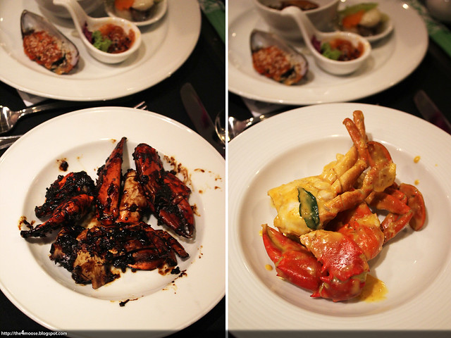 Spices Cafe - Black Pepper and Salted Egg Yolk Crabs