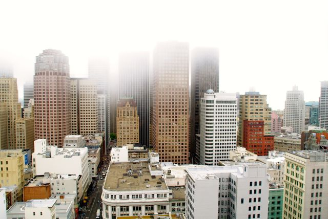 view from grand hyatt San Francisco