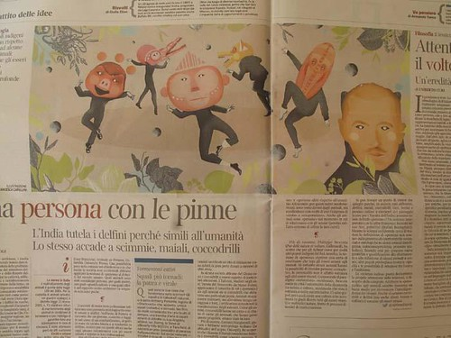 Paper by la casa a pois