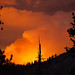 Rim Fire in Yosemite, 116mm