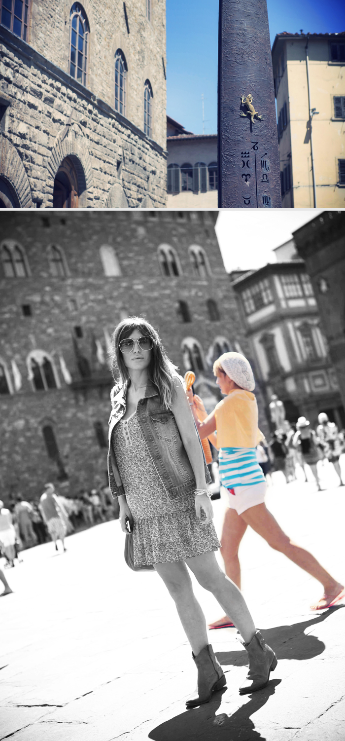 street style barbara crespo holidays cruisse travels italy firenze outfit