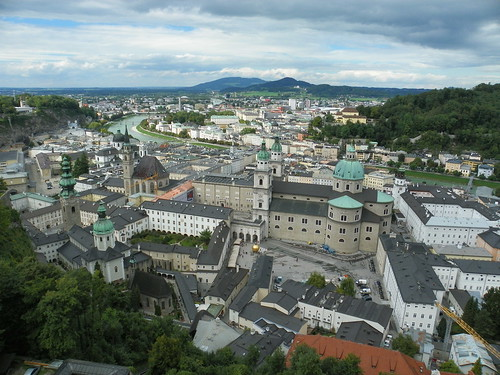 Fortress View of Salsburg