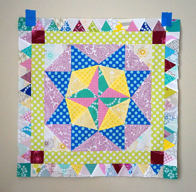 Marcelle Medallion Quilt, Border 2