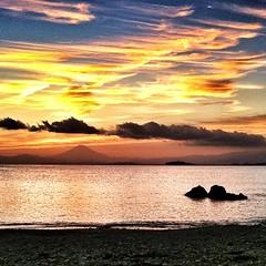 #sea #beach #fujisan #hayama #morito