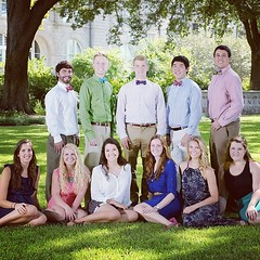 11 of our 24 wonderful admissions interns! #tulane #onlyattulane