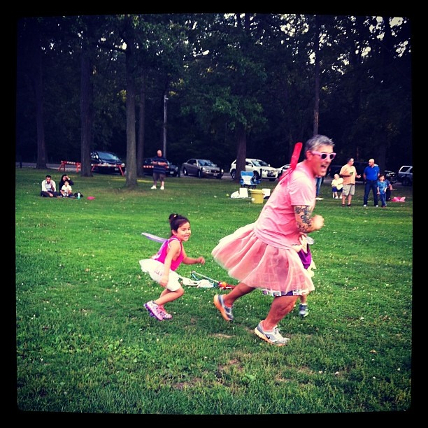 What time is it Mr. Wolf?? LUNCHTIME! #janietwohander #fairies #lacrosse