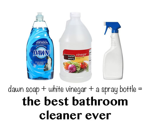 The easiest and best diy bathroom cleaner for Best cleaner for bathroom
