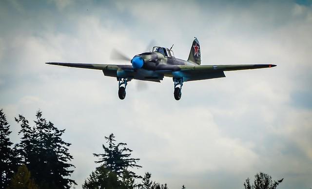 IL-2 Shturmovik landing